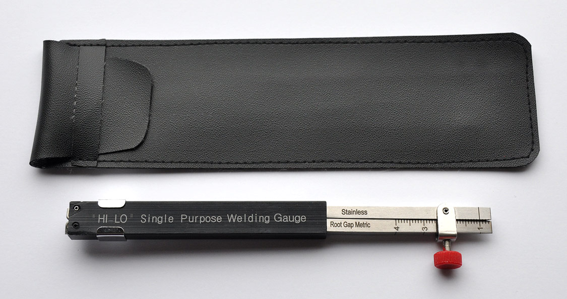 Economy Single Purpose Hi-Lo Welding Gauge - 1/32 or Zero Line, Eliminates Rejects - Improves Productivity, Available in Inch or Metric