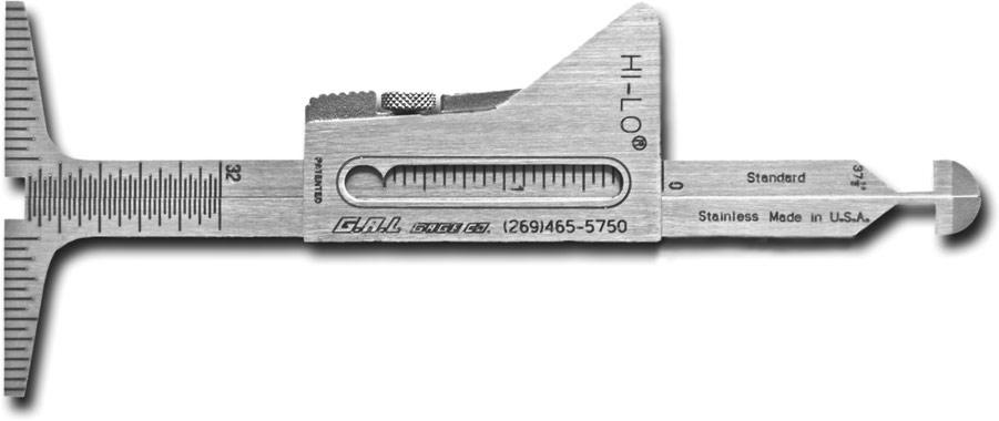 G A L Gage Company Weld Measuring Gauges Adjustable