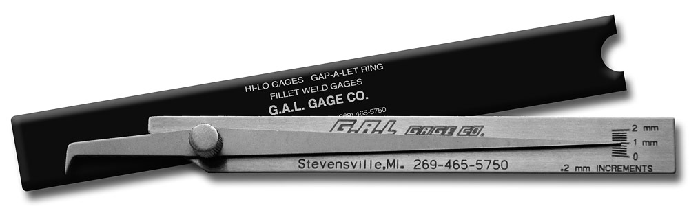 Pit Gage - Check Undercut/Pits, All Stainless Steel