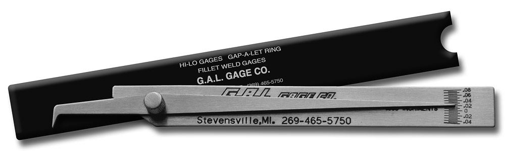 Pit Gage - Check Undercut/Pits, Crowns, All Stainless Steel